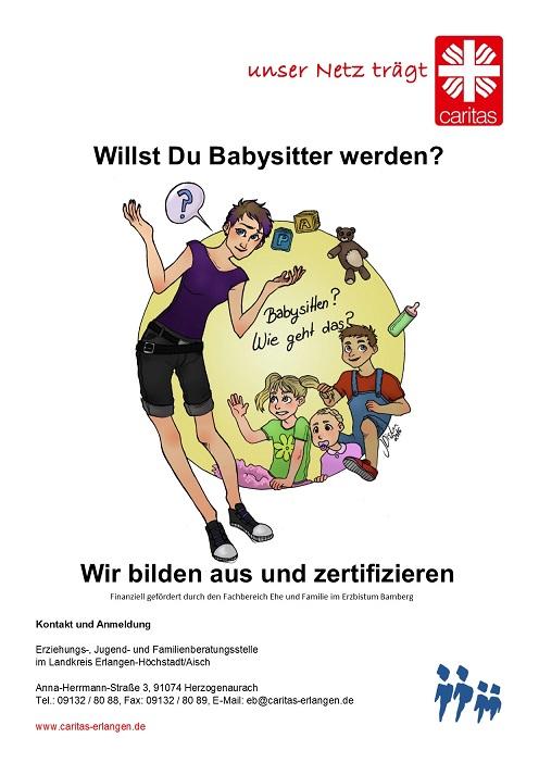 Caritas Erlangen - Babysitterkurs mit Zertifikat